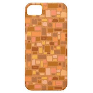 Shopping bags pattern, autumn colors iPhone SE/5/5s case