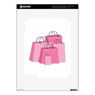 Shopping Bags iPad 3 Decals