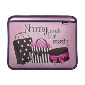 Shopping bags sleeve for MacBook air