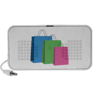 Shopping Bags Travelling Speakers