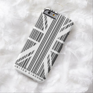 Shopping Bar Code Union Jack  Flag Barely There iPhone 6 Case