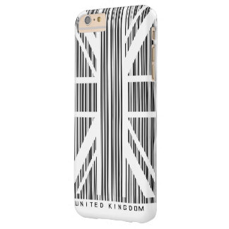 Shopping Bar Code Union Jack  Flag Barely There iPhone 6 Plus Case