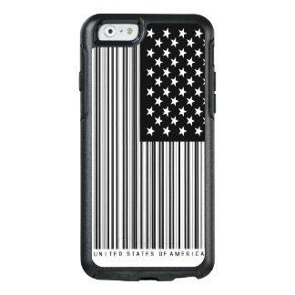 Shopping Bar Code US America Flag OtterBox iPhone 6/6s Case