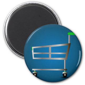 Shopping Basket Magnet