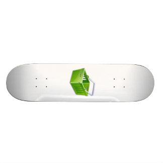 Shopping Basket Skate Board
