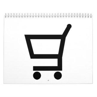 Shopping cart calendar
