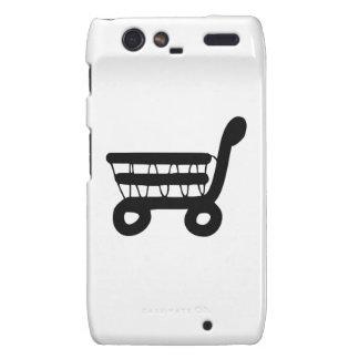 Shopping Cart Motorola Droid RAZR Cases