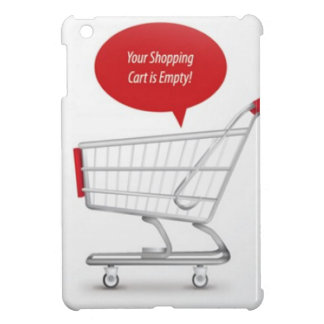 Shopping cart design iPad mini covers