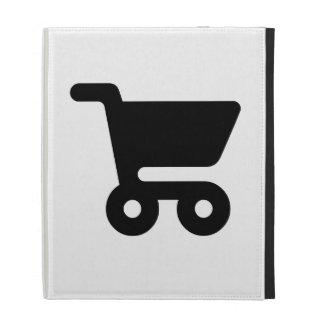Shopping Cart iPad Folio Cover