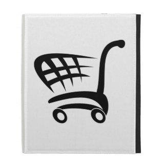 Shopping Cart iPad Folio Covers