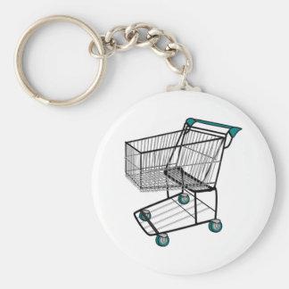 Shopping Cart Keychain