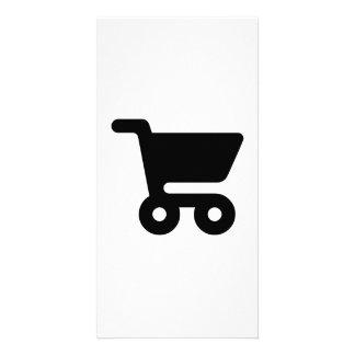 Shopping Cart Photo Card Template