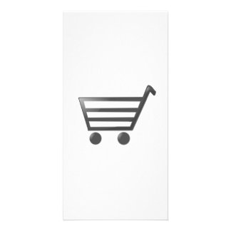Shopping Cart Photo Card