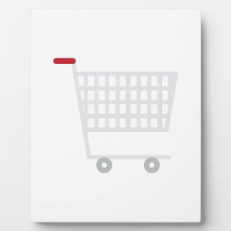 Shopping Cart Display Plaque