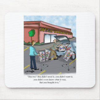Shopping Cartoon 9392 Mouse Pad