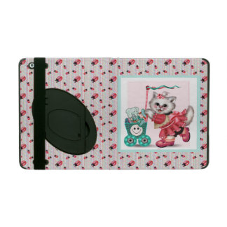 SHOPPING CAT LOVE Powis iCase iPad 2/Air Kickstand iPad Case