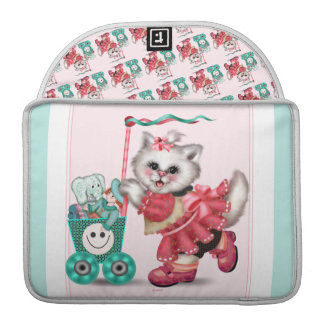 SHOPPING  CAT  Rickshaw Sleeve Macbook Pro 13""