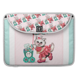 SHOPPING  CAT  Rickshaw Sleeve Macbook Pro 15""