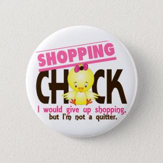 Shopping Chick 2 Pinback Button