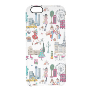 Shopping City Girl | Clearly Deflector iPhone Case