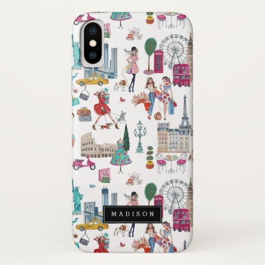 finest selection a5b8a 76e5e Shopping City Girl   Iphone X Case