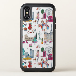 Shopping City Girl  | Speck Iphone Case