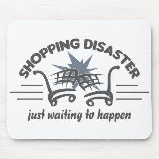 Shopping Disaster mousepad