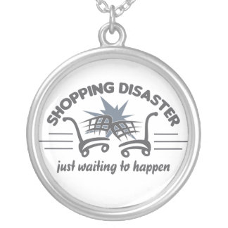 Shopping Disaster necklace