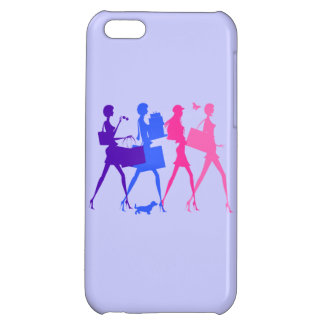 Shopping Divas Cover For iPhone 5C