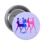 Shopping Divas Pinback Buttons