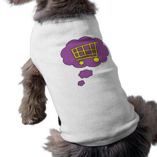 shopping pet t shirt