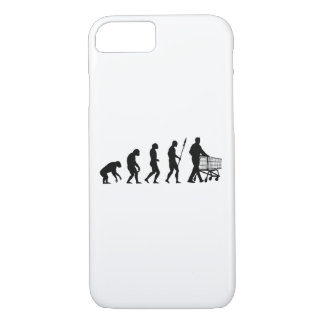 shopping evolution iPhone 7 case