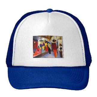 "Shopping - ""Fashion Shop"" by August Macke Trucker Hat"