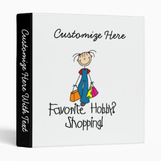 Shopping Favorite Hobby 3 Ring Binder