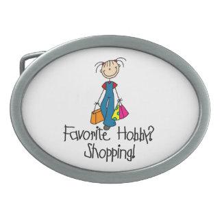 Shopping Favorite Hobby Belt Buckle