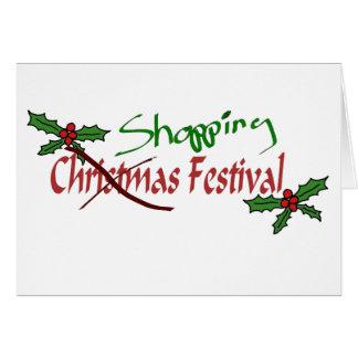 Shopping Festival Card