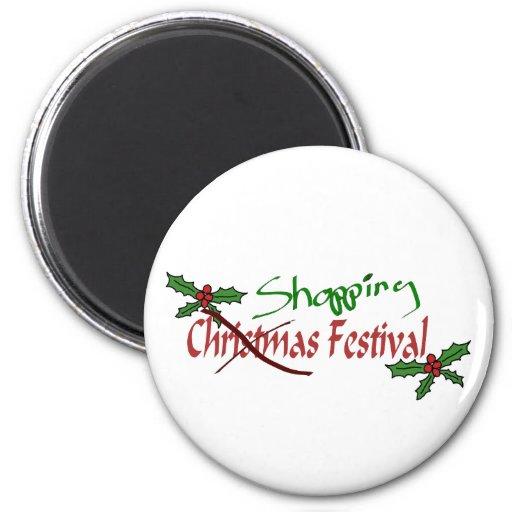 Shopping Festival Magnet