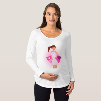 Shopping For Baby Girl Maternity T-Shirts