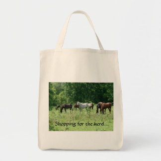 Shopping for the Herd Tote Bag