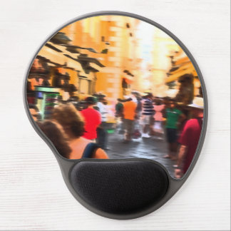 Shopping frenzy mouse pad gel mouse pad