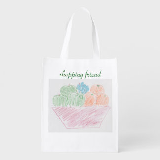 Shopping friend fruit bag
