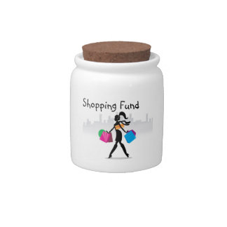 Shopping Fund Candy Dish