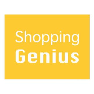 Shopping Genius Gifts Postcard