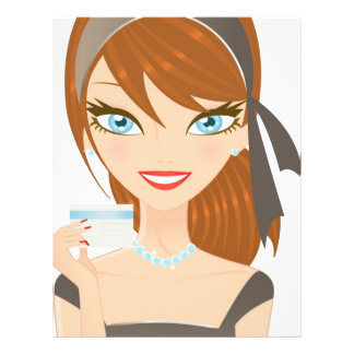 Shopping Girl Flyer