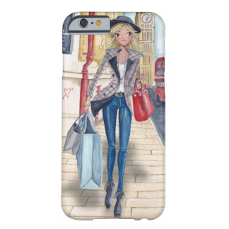 Shopping Girl in London City | Iphone 6 case