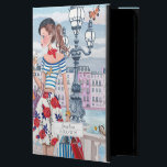 "Shopping Girls in Paris City | iPad Air 2 Case<br><div class=""desc"">Cartita design &#169;2015  All Rights Reserved