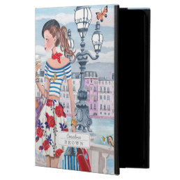 Shopping Girls in Paris City | iPad Air 2 Case