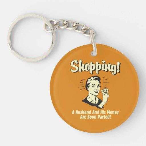Shopping: Husband and His Money Acrylic Key Chain