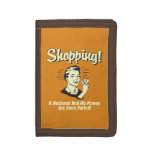 Shopping: Husband and His Money Tri-fold Wallet