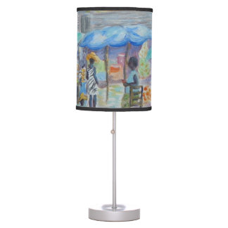 SHOPPING IN HAITI Lamp